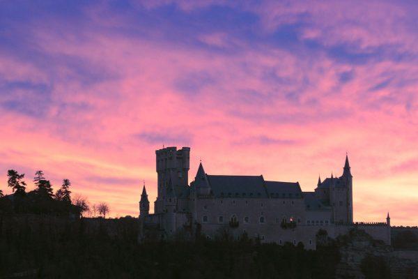 Atardecer Alcázar de Segovia