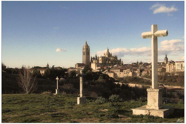 Vista de la Catedral de Segovia